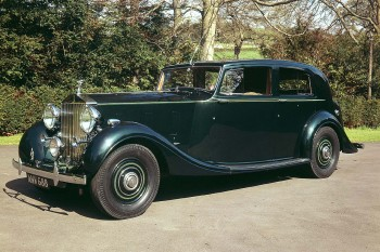1938 ROLLS-ROYCE PHANTOM III TRUPP & MARBERLY SALOON WITH DIVISIO