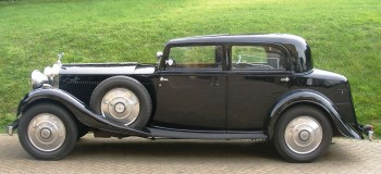 1934 ROLLS-ROYCE 20/25 HP TOURING SALOON
