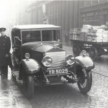 1926 ROLLS-ROYCE 20 HP IN MOSLEY STREET, MANCHESTER IN MARCH 1936