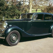 1938 ROLLS-ROYCE PHANTOM III TRUPP & MARBERLY SALOON WITH DIVISION