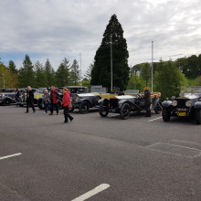 Igs Tour 2019 Cars Outside Ballyhaise House